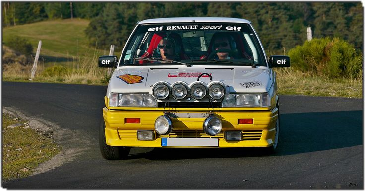 renault 11 turbo by denis789 renault racing cars pinterest cars. Black Bedroom Furniture Sets. Home Design Ideas