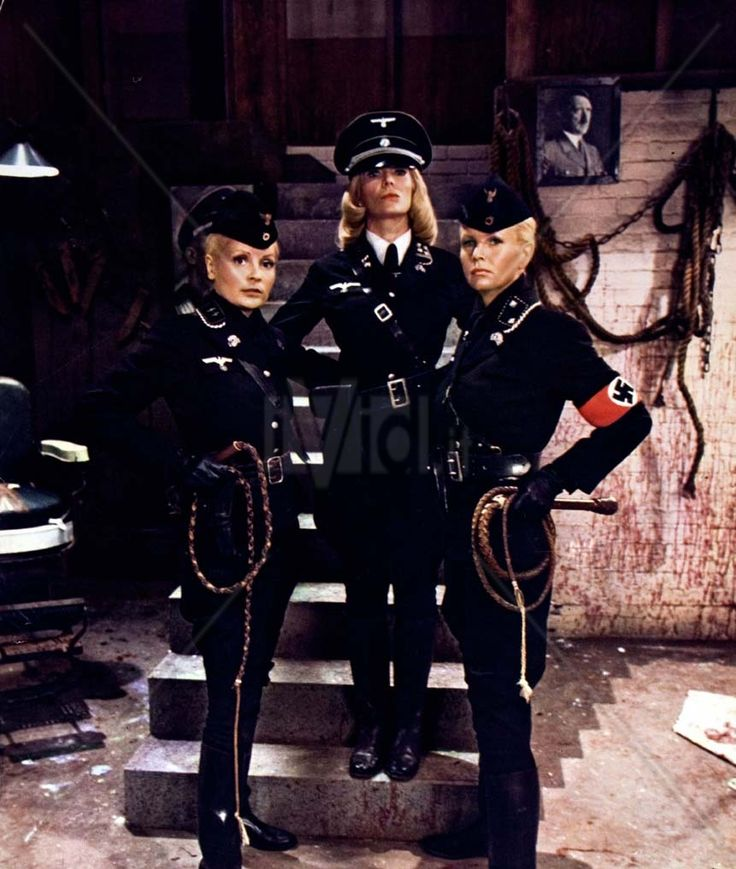 Ilsa: She Wolf of the SS (I'm not into Nazi belief or any bit of fascism or racism, but I do find a strong  arousing D/s element in the uniforms and act fetishization of fascism)