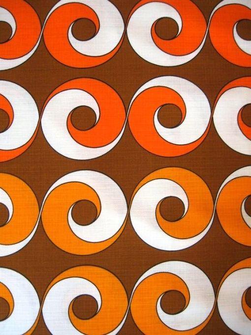 17 best images about 70s patterns on pinterest vinyls vintage fabrics and fabrics. Black Bedroom Furniture Sets. Home Design Ideas