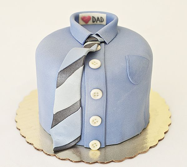 Love this Shirt Cake For Father's Day