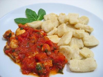 Gnocchetti di patate con salsa al rosmarino