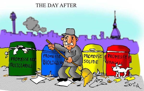 Promesse elettorali... #IoSeguoItalianComics #Satira #Politica #Comics #Humor #Italy #thedayafter #elezioni