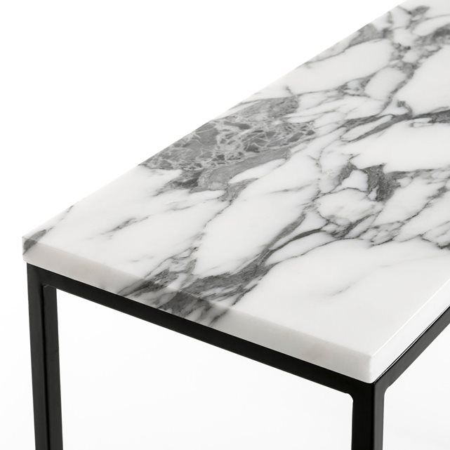Mahaut Marble Console Table