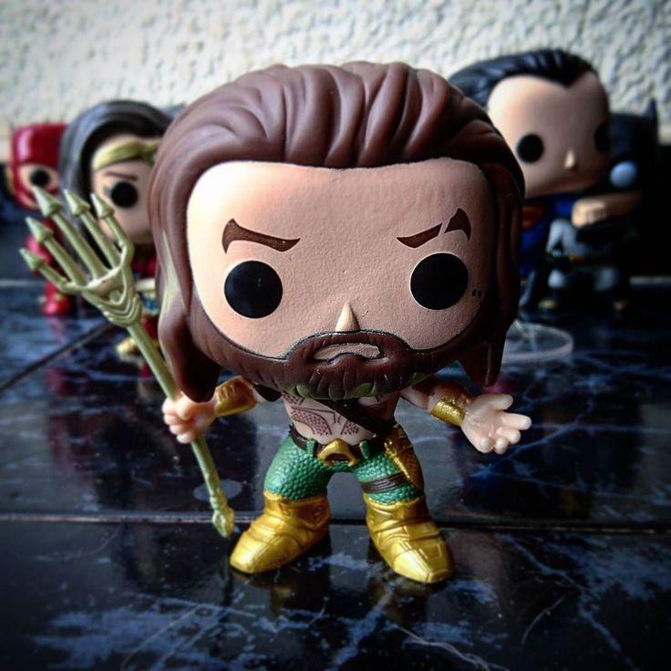 #Aquaman se une a La Liga de la Justicia #JLA #JasonMamoa #FunkoPop
