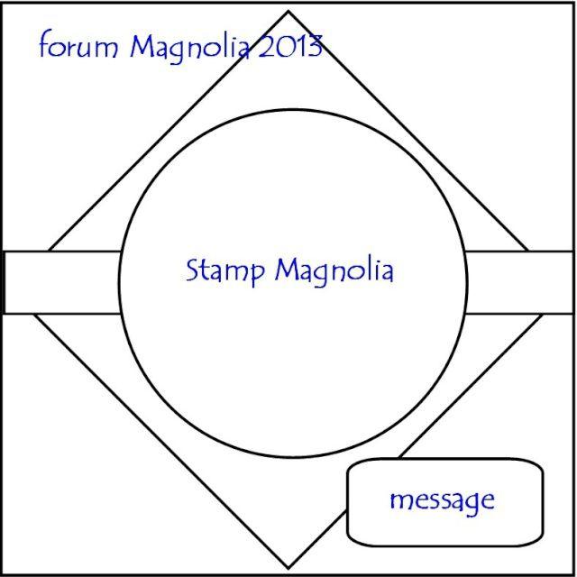 Sketch magnolia