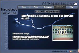 Recursos musicales para el aula de musica. Partituras de flauta, musicogramas, canciones. CEIP Miguel Medina de Archena. Maestro Juan Francisco Moreno.