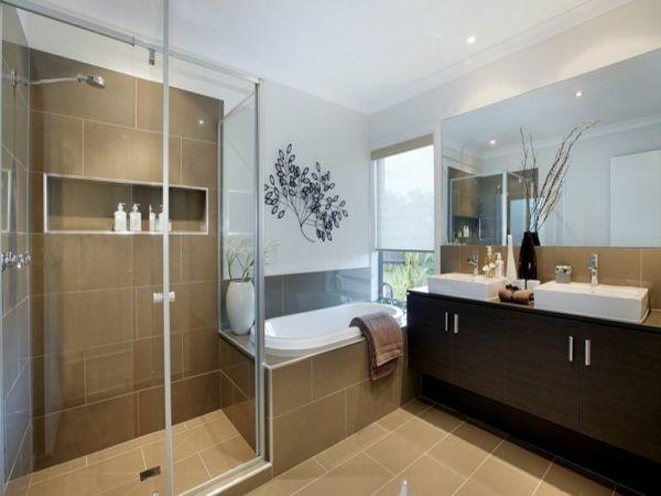 Badezimmer einrichtung beautiful bad beispiele mit for Einrichtung bad