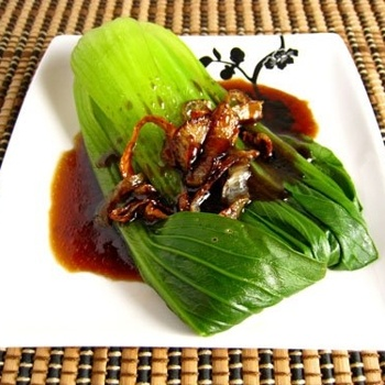 Baby Bok Choy with Oyster Sauce | Taste Of The East! | Pinterest