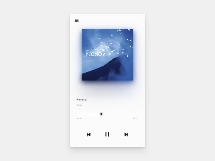 Music Player by Uvoycox