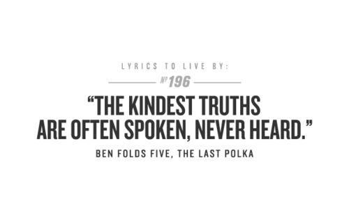 Ben Folds Five--who doesn't love, love, love Ben Folds Five???