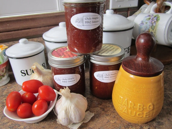 Chili Maple BBQ Sauce by sweetpeaspantry on Etsy, $5.00