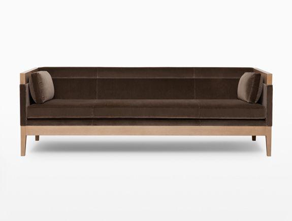 Hadley Hall Sofa. Available through Holly Hunt. www.hollyhunt.com