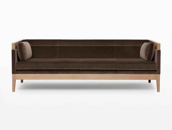 Hadley Hall Sofa. Available through Holly Hunt. Contact Avondale Design Studio for information on purchasing any of the products we highlight on Pinterest. We can often provide discounts over retail pricing.