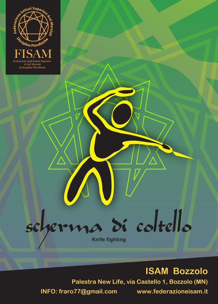 Logo di scherma di Coltello. Autore: Daniele Daneluzzo