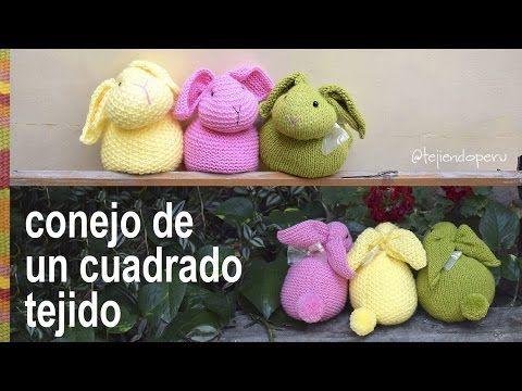 Colcha con perritos dormilones o manta de apego tejida a crochet (cuadrado granny y amigurumi) - YouTube