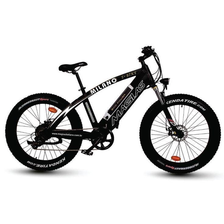 Bicicleta Elétrica Pneus Largos 8 Marchas - Submarino.com