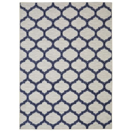 Found it at Wayfair - Loop Print Base Glenn Navy Area Rug