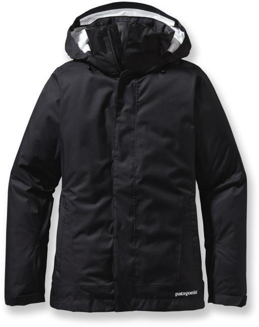 Black Patagonia ski jacket