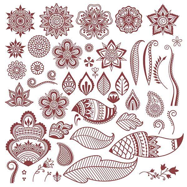 Anleitung: Henna Tattoo selber machen inkl. Muster/Motive – WOMZ – Mandala/Zen Tangles / how to's