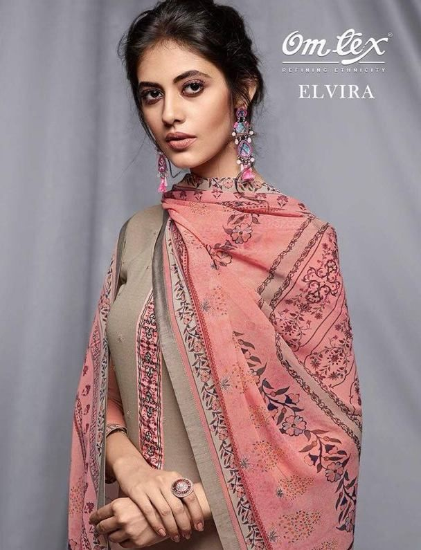 cb45c9b3e3 Omtex Elvira Fancy Designer Printed Pure Georgette Dress Material  Collection at Wholesale Rate