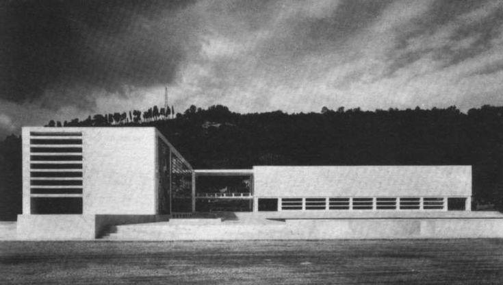 Luigi Moretti: fencing academy at Foro Mussolini