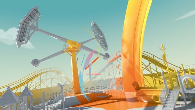 """Yes Captain was asked to create a big, bright and fast paced animated TVC for Luna Park and their """"Biggest Summer Ever"""" campaign. With a short turnaround, Cinema 4D and Arnold was used throughout the project to produce impressive, stylised 3D content with the aid of cloud farm rendering."""