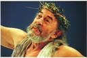 "Raul Cortez (Brazilian actor) in ""King Lear"""