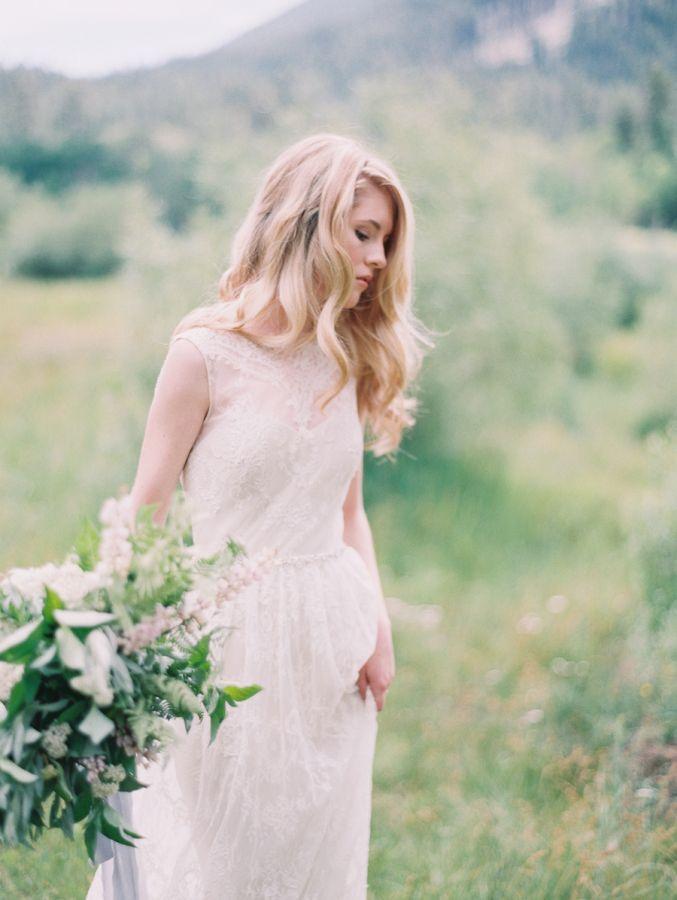 A Line Wedding Dresses for Feminine and Classic brides | see more - https://www.itakeyou.co.uk/wedding/a-line-wedding-dresses-for-feminine-and-classic-brides: | Photography: Carmen Santorelli - http://carmensantorellistudio.com/: