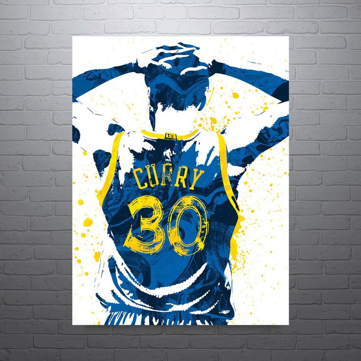Stephen Curry Golden State Warriors Poster. Got my Steph poster hanging in my closet. Lol