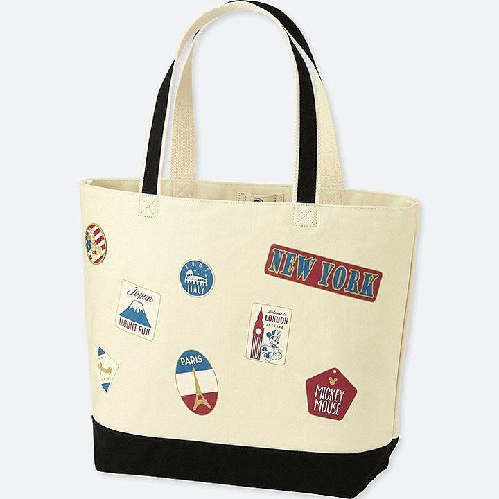 Uniqlo Mickey Travels Tote Bag