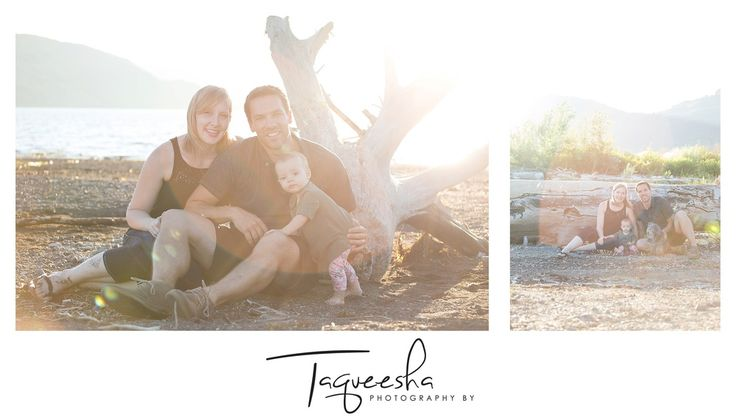 Kamloops Family Photographer, summer evening session. Beach family photos.