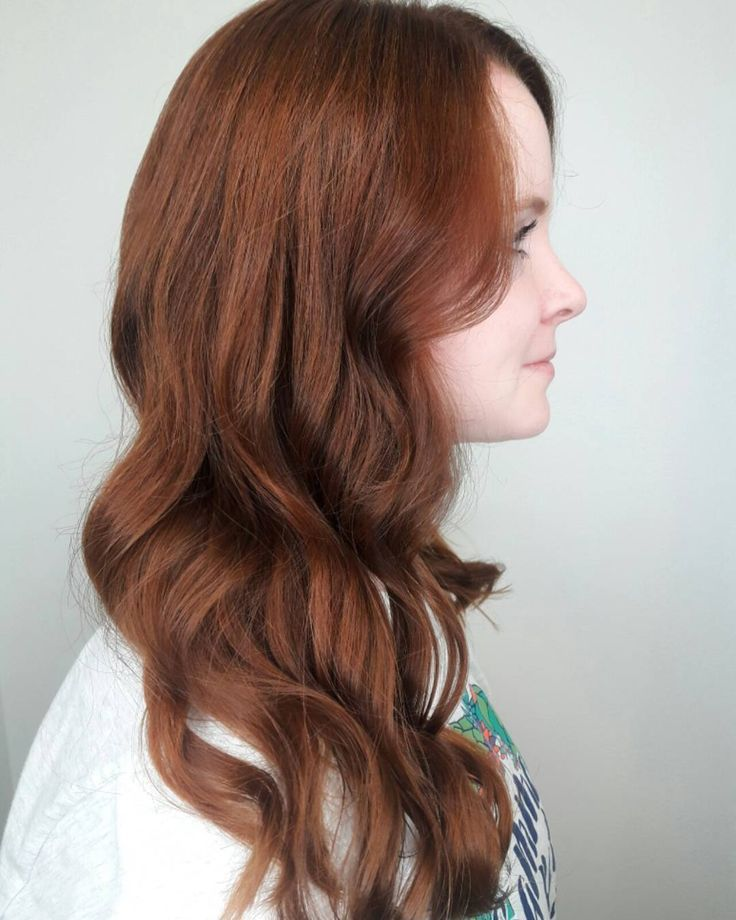 Trends 2018 - Red Hair Color : Gorgeous rich auburn red Aveda hair color by Aveda Artist Alyxx Peterson. #Red https://inwomens.com/2018/02/04/trends-2018-red-hair-color-gorgeous-rich-auburn-red-aveda-hair-color-by-aveda-artist-alyxx-peterson/