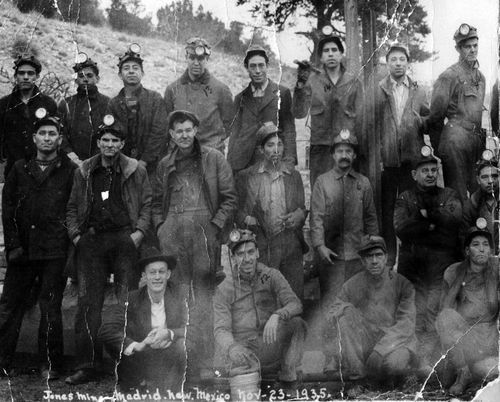 The Miners of Madrid, New Mexico 1937