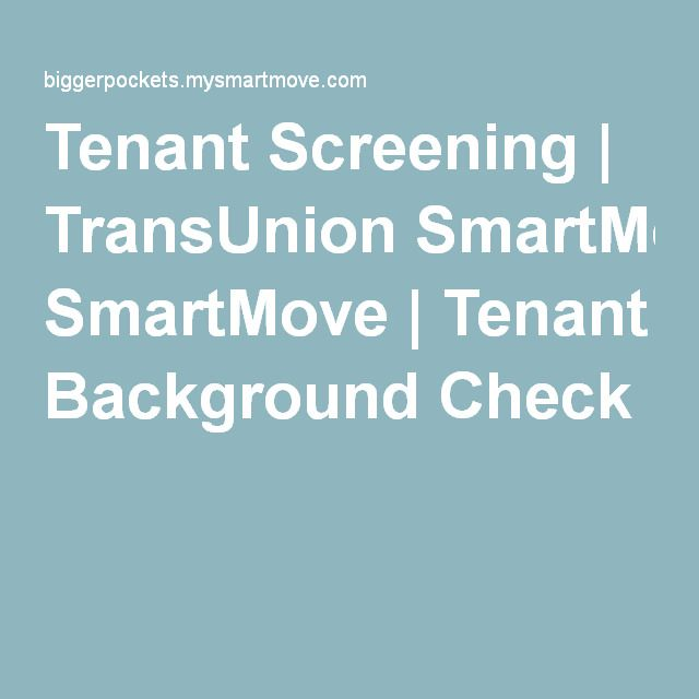 The  Best Tenant Background Check Ideas On   Tenant