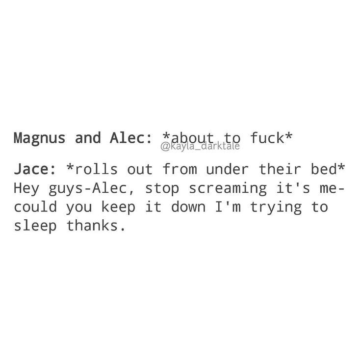[Open for more] • • • Inspired by the new episode because now Jace is living with Magnus • • @harryshumjr @matthewdaddario @domsherwood [Image from Tumblr] • • ily: i love you. ilysm: i love you so much . ikyfwifa: i know you feel what i feel alec . wtgcdpma: when things get crazy don't push me away . iamt: i am malec trash