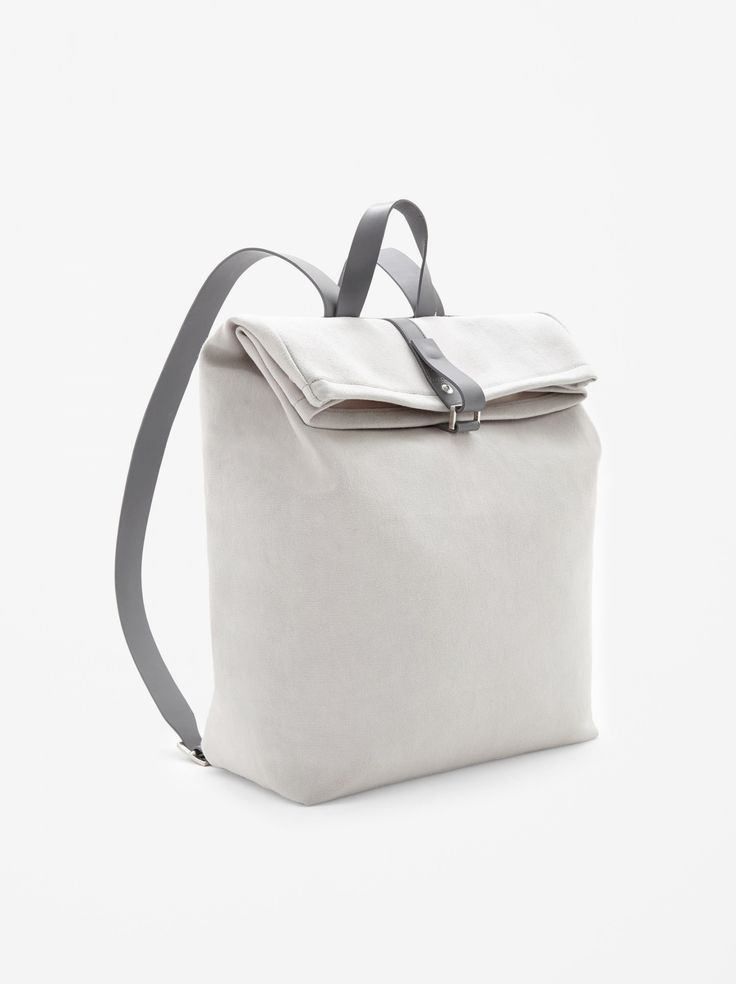Visibly Interesting: White backpack #witcherystyle