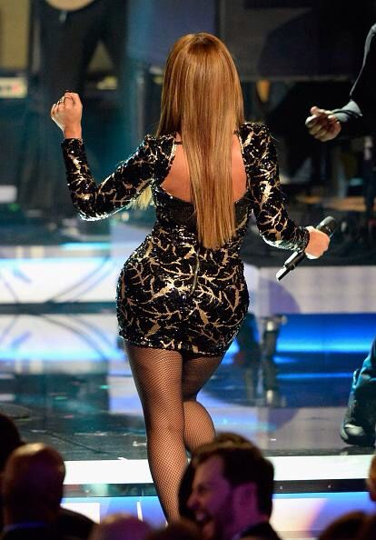 Beyoncé At The Stevie Wonder GRAMMY Salute at Nokia Theatre L.A. February 10, 2015 in Los Angeles