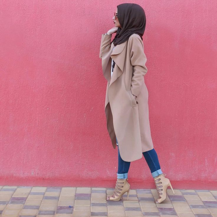 "awesome Soha M.T Semenov on Instagram: ""Waterfall coat kinda day "" by http://www.newfashiontrends.pw/street-hijab-fashion/soha-m-t-semenov-on-instagram-waterfall-coat-kinda-day/"