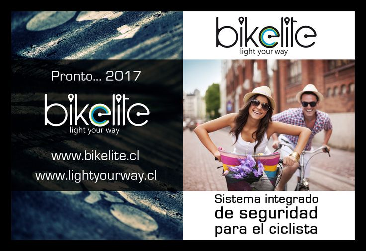 Diseño fusión para Teaser BikeLite  http://www.bikelite.co/