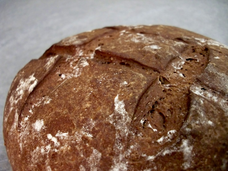 Dark German Rye Bread - ummm....not bad but it didn't raise much at all and I am a pretty experienced bread baker.  If I do it again, instead of 1 1/2 tsp. yeast, I'd put in 1 T.