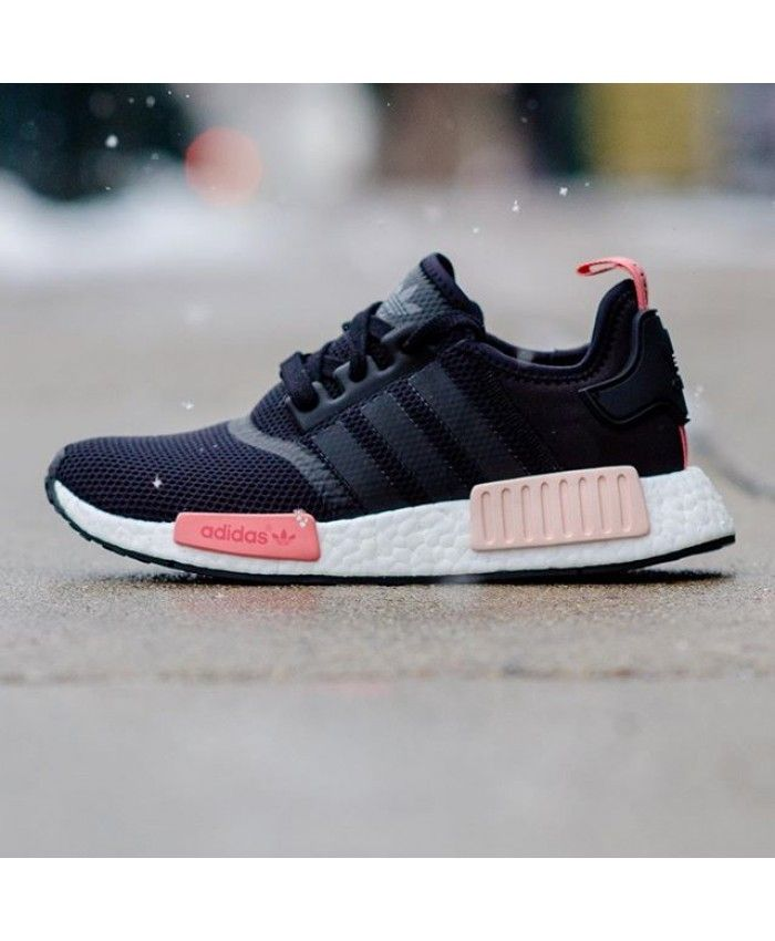save off 96339 38e14 Adidas Nmd R1 Black Pink trainers for cheap