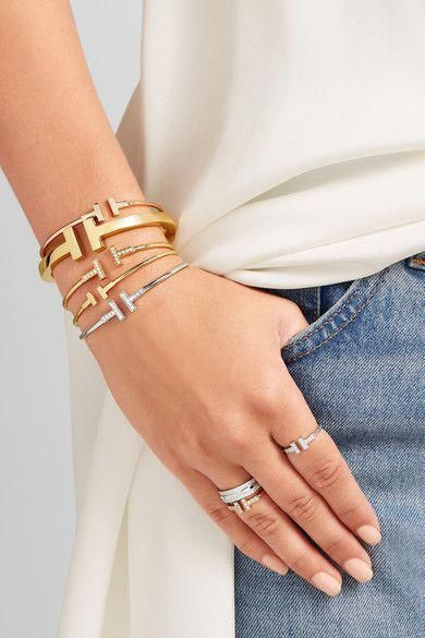 Jewellery Fashion Of Rings Combined With Bracelet