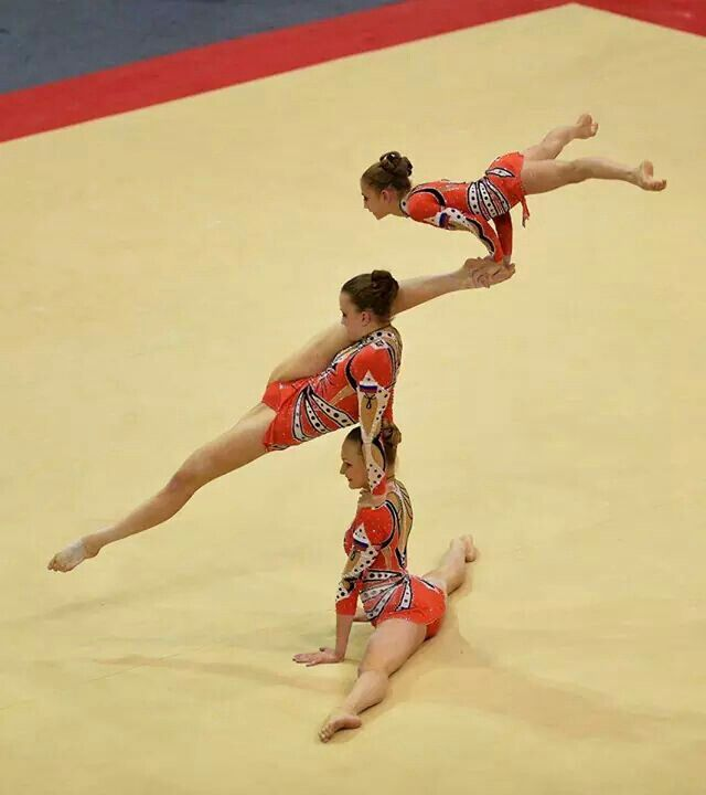 61 Best Images About Acrobatic Gymnastics On Pinterest