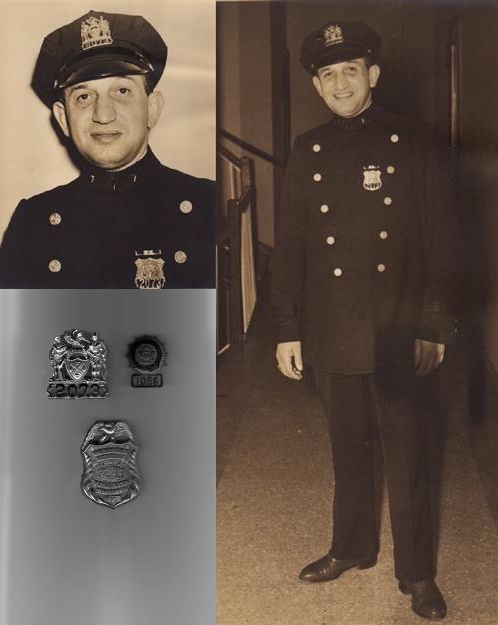 ortraits of patrolman irving frey appointed may 5th 1920 retired may 5th 1940 the shields