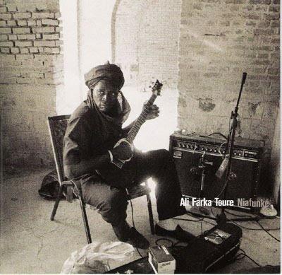 """Ali Ibrahim """"Farka"""" Touré."""