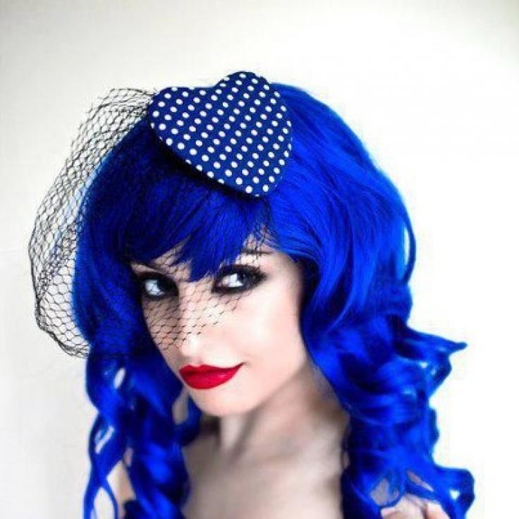 Rockabilly blue hair by Manic Panic <3
