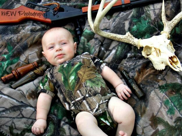 Camo baby pictures hunting baby