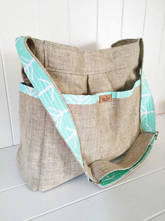 Choose your Linen and Arrow Girl or Boy Diaper by LanaRaePurses