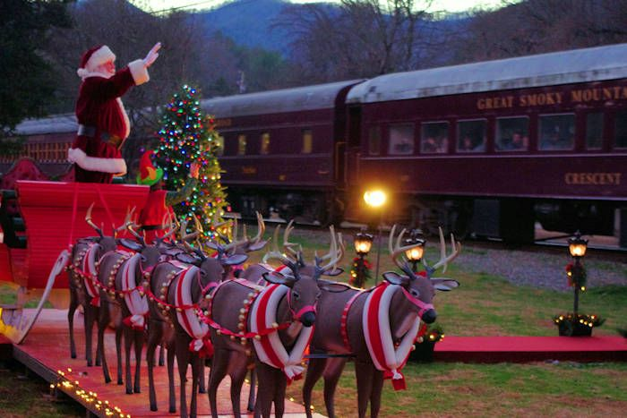 Polar Express Train, Great Smoky Mountains RR - Bryson City, NC