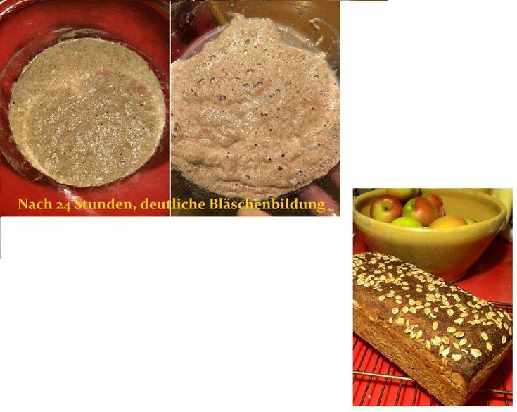 Wer ohne Hefe backen möchte oder muss, braucht alternative Backtriebmittel. Eins davon ist der Sauerteig, ohne den Roggen für Brote nicht zu verbacken ist. Ein Roggenbrot mit Hefe oder gar Backpulv…